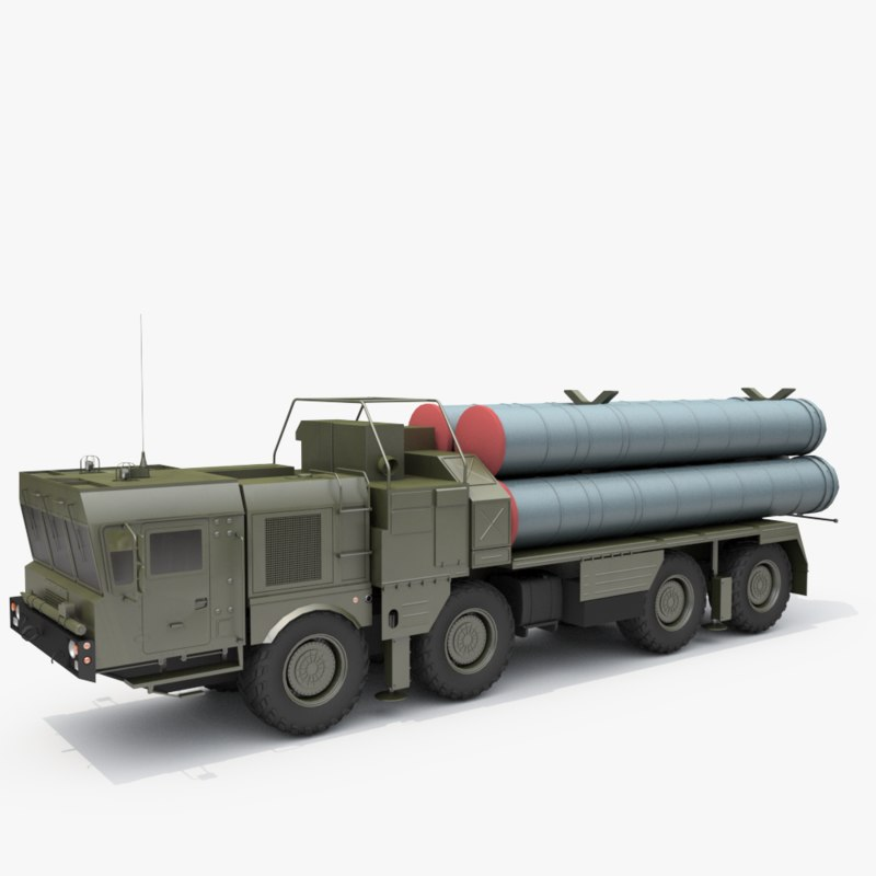 s-300 anti-access area 3D model