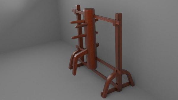 wooden dummy model