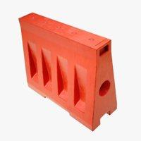 3D 4k traffic water wall model