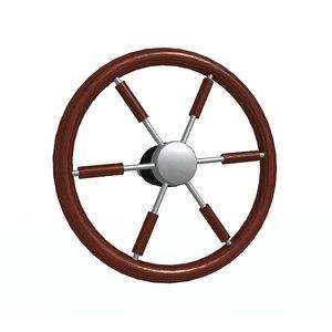 steering-wheel e 3D model