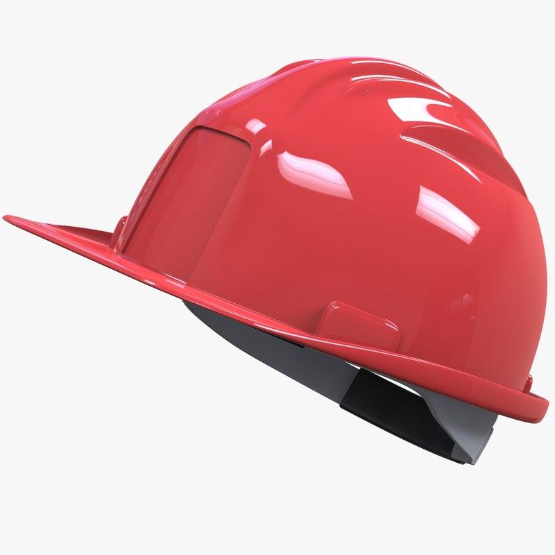 construction helmet v2 3D model