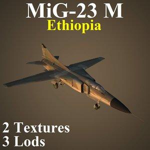 3D mikoyan eph fighter model