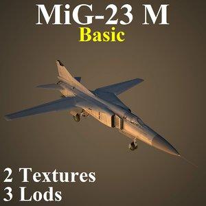 mikoyan basic fighter model