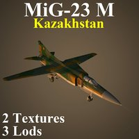 3D mikoyan kaz fighter