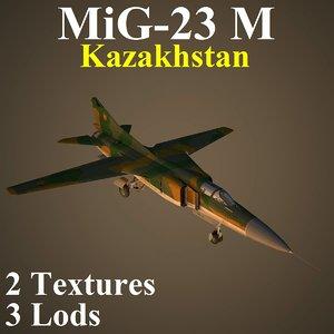 3D mikoyan kaz fighter