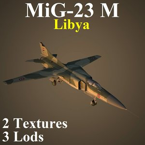 3D model mikoyan liv fighter