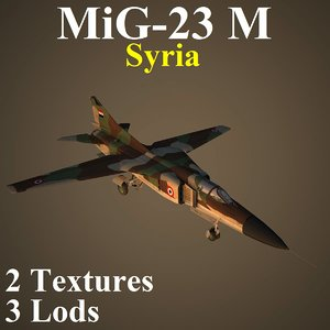 3D mikoyan sir fighter