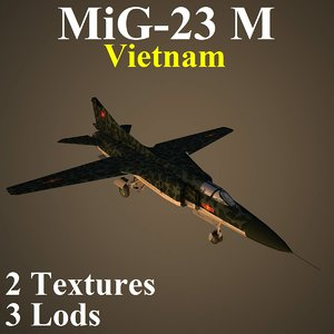 mikoyan vie fighter 3D model
