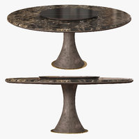 longhi table david 3D model