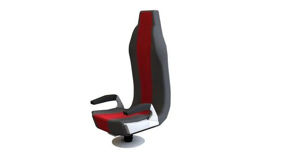 3D aircraft seat