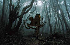 creepy cabin 3D model