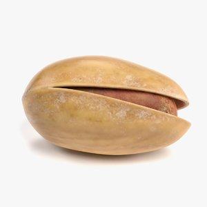 3D pistachio nut pbr model