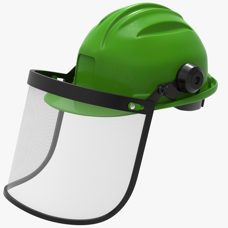 construction helmet visor 3D