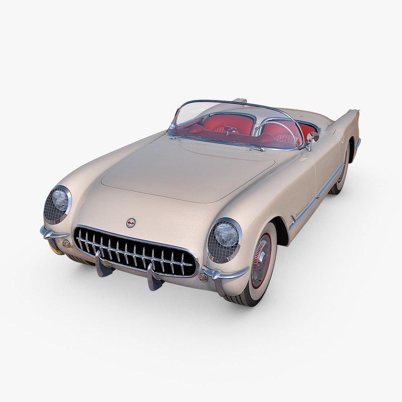 chevrolet corvette 1953 model