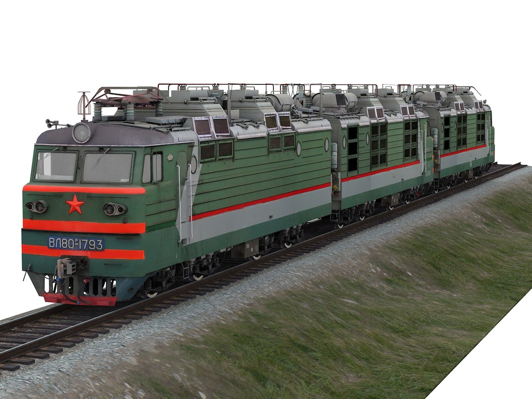 3D locomotive vl80r