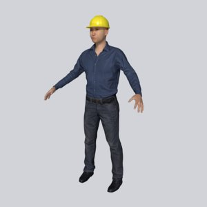 3D architect working