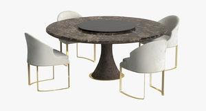 3D longhi daphne chair