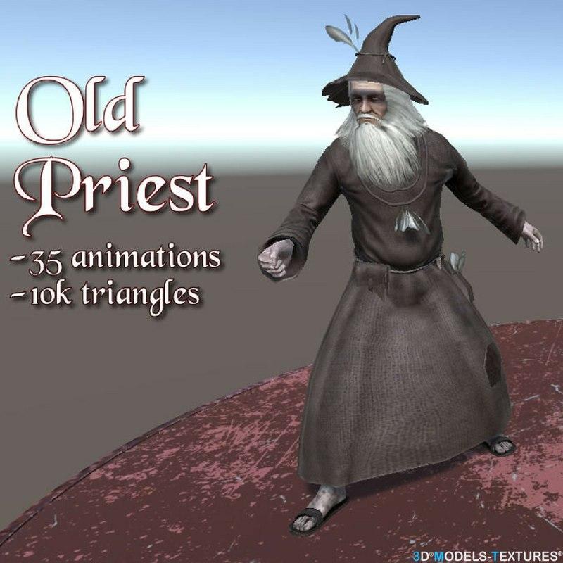 old priest model