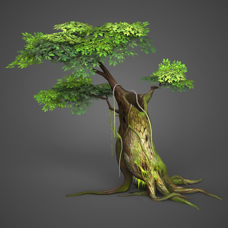 ready realistic tree games model