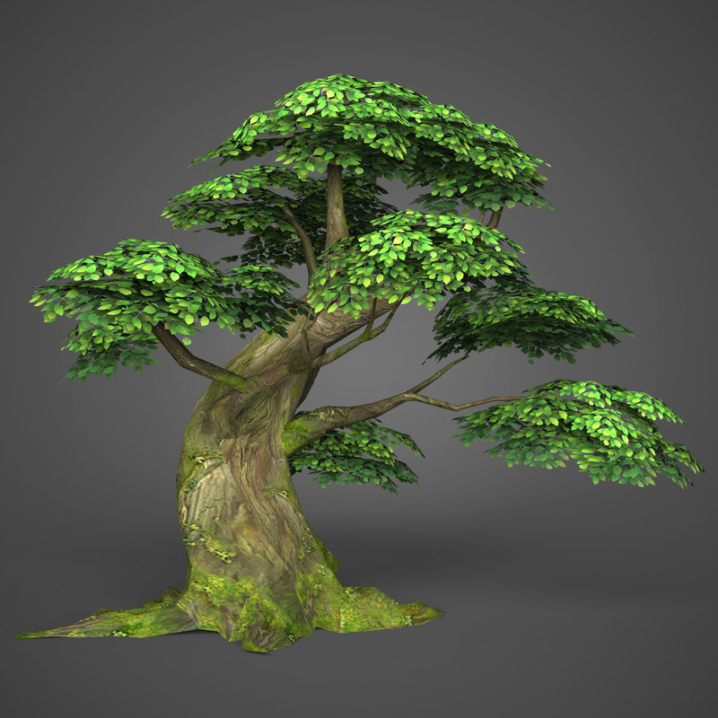 ready realistic tree games 3D