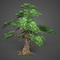 ready realistic tree games 3D model