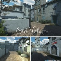 old villages 3D