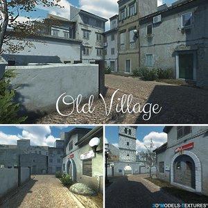 old villages 3D