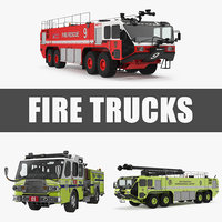 Fire Trucks Collection 3