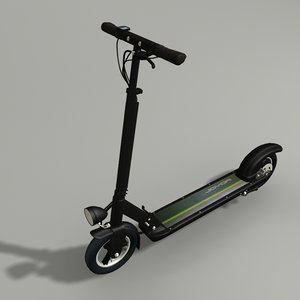 scooter kick electric 3D model