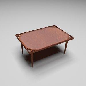 tea table model