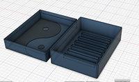 printing soap dish travel 3D model