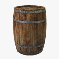 3D realistic barrel model