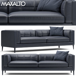 3D couch sofa model