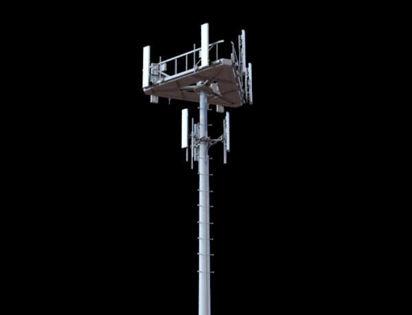 telecommunication tower telecom 3D model