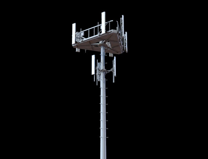 telecommunication tower telecom 3D model