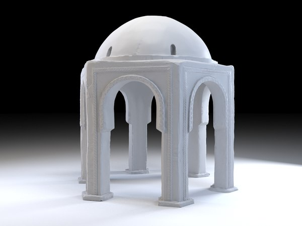 eastern construction tomb 3D