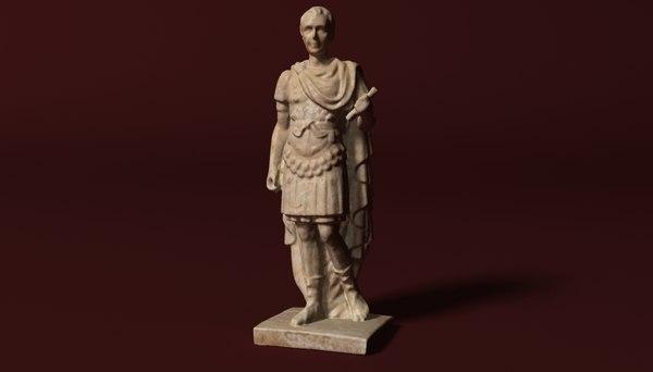 3D caesar roman empire model