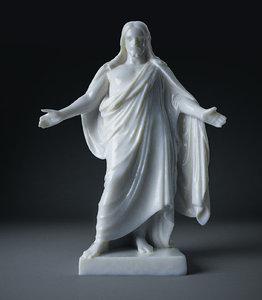 3D model statue jesus christ