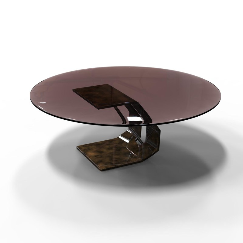 3D stylish coffee table
