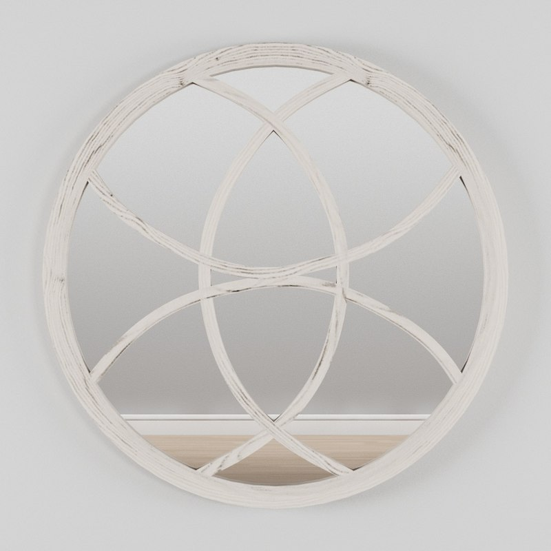 3D mirror design decor