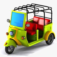 Toon Tricycle