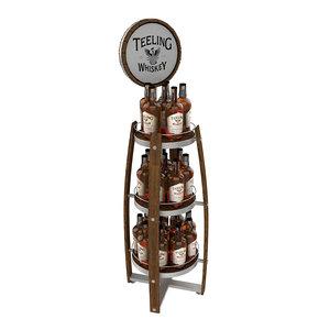 teelings whiskey display 3D model
