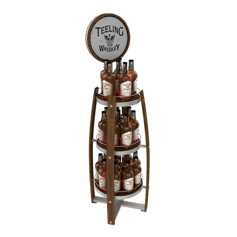 teelings whiskey display 3D model