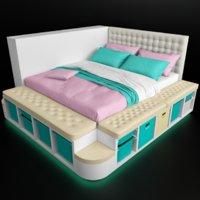 3D bedcloth bed ikea