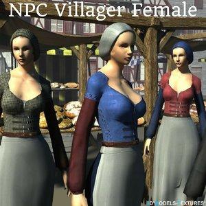 3D npc characters