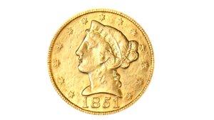 american 5 dollar 1851 model