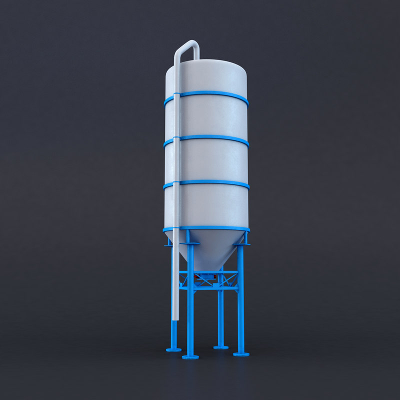 3D model silos