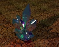 3D crystalline fantasy