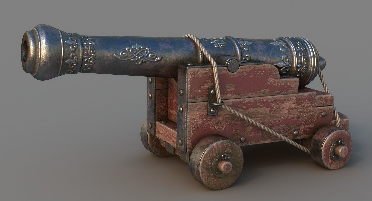 3D vessel cannon
