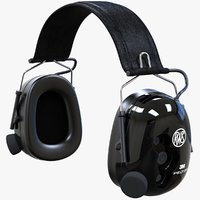 peltor tactical xp headset 3D model